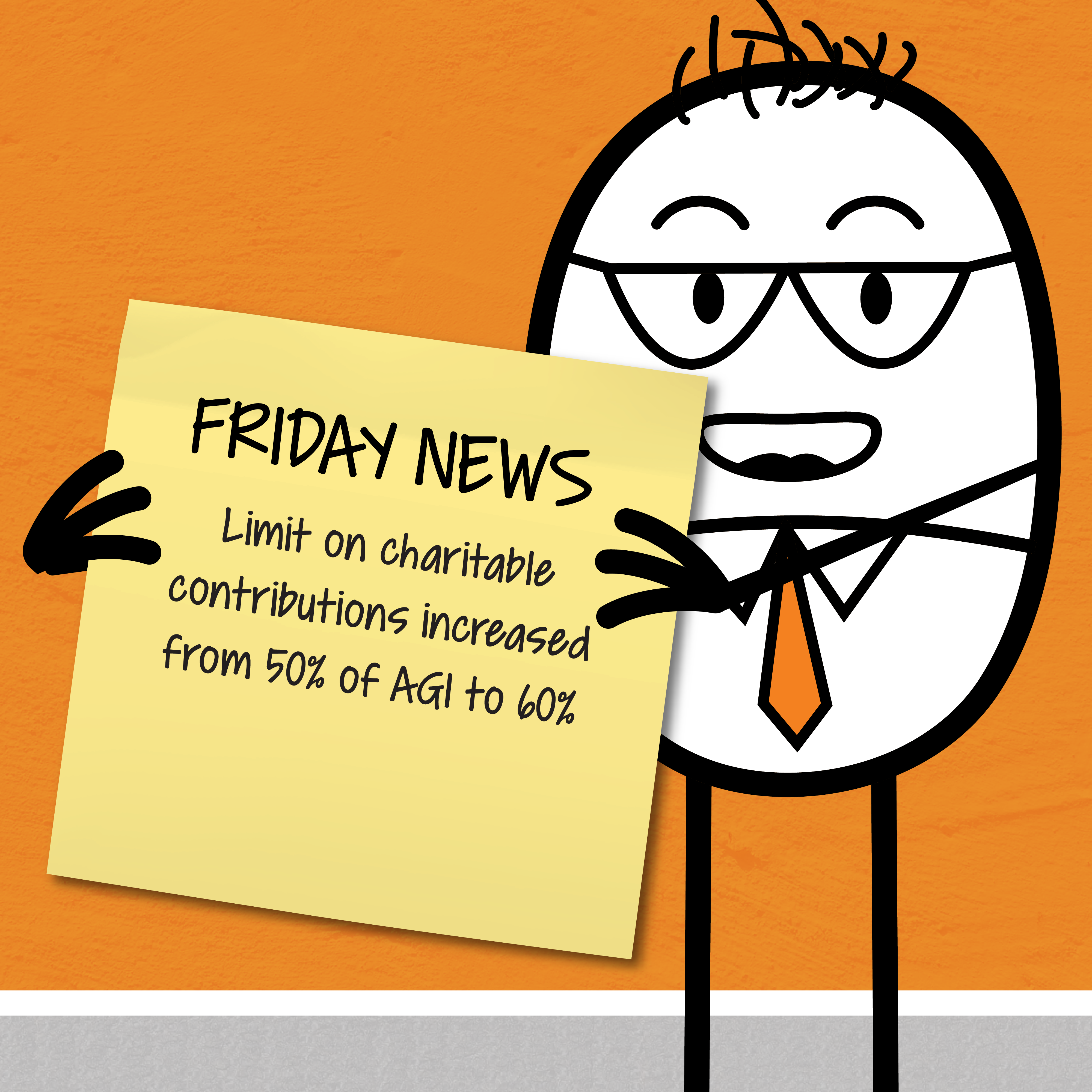 Friday News – Charitable Contributions