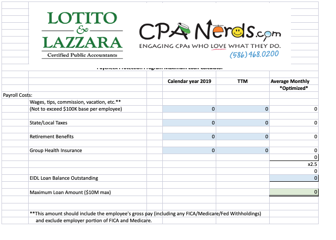 CPA Nerds PPP Caculator